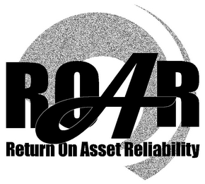 mark for ROAR RETURN ON ASSET RELIABILITY, trademark #85841565