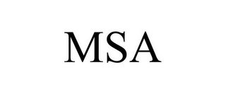 mark for MSA, trademark #85841972