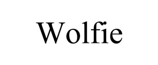 mark for WOLFIE, trademark #85842218