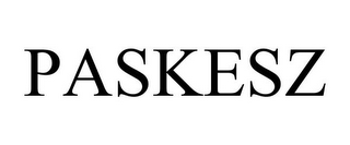 mark for PASKESZ, trademark #85842348