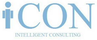 mark for I CON INTELLIGENT CONSULTING, trademark #85842358