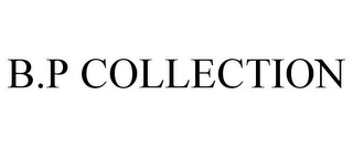 mark for B.P COLLECTION, trademark #85842367