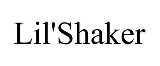 mark for LIL'SHAKER, trademark #85842613