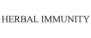 mark for HERBAL IMMUNITY, trademark #85842627