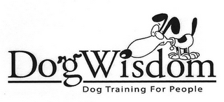 mark for DOGWISDOM DOG TRAINING FOR PEOPLE, trademark #85842736