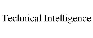 mark for TECHNICAL INTELLIGENCE, trademark #85842819