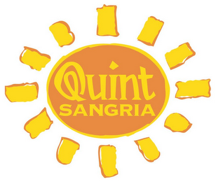 mark for QUINT SANGRIA, trademark #85843094