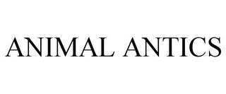 mark for ANIMAL ANTICS, trademark #85843095