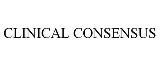 mark for CLINICAL CONSENSUS, trademark #85843352