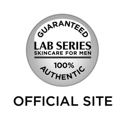mark for GUARANTEED LAB SERIES SKINCARE FOR MEN 100% AUTHENTIC OFFICIAL SITE, trademark #85843630