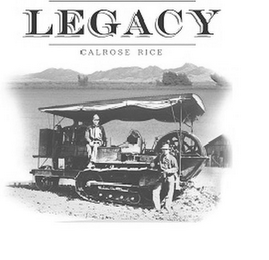 mark for LEGACY CALROSE RICE, trademark #85843719