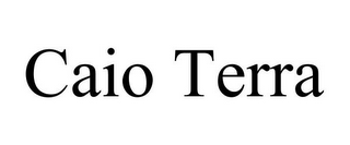 mark for CAIO TERRA, trademark #85844040