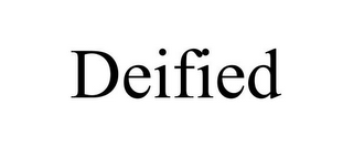 mark for DEIFIED, trademark #85844068
