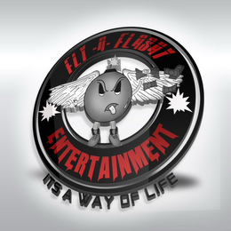 mark for FLY-N-FLASHY ITS A WAY OF LIFE ENTERTAINMENT, trademark #85844157