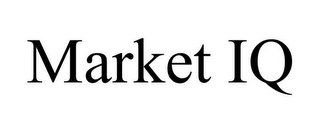 mark for MARKET IQ, trademark #85844238