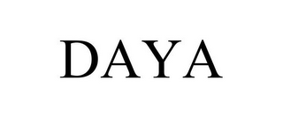 mark for DAYA, trademark #85844278