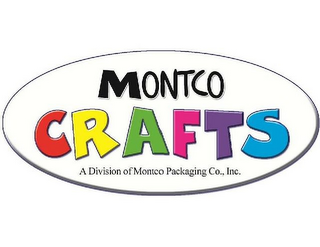 mark for MONTCO CRAFTS A DIVISION OF MONTCO PACKAGING CO., INC., trademark #85844429