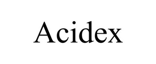 mark for ACIDEX, trademark #85844551
