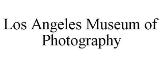 mark for LOS ANGELES MUSEUM OF PHOTOGRAPHY, trademark #85844714