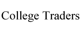 mark for COLLEGE TRADERS, trademark #85844799