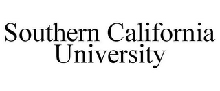 mark for SOUTHERN CALIFORNIA UNIVERSITY, trademark #85845201