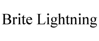 mark for BRITE LIGHTNING, trademark #85845399