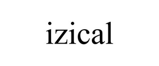 mark for IZICAL, trademark #85845462