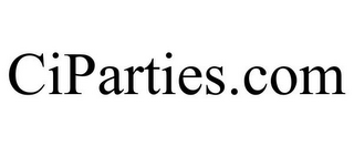 mark for CIPARTIES.COM, trademark #85845693