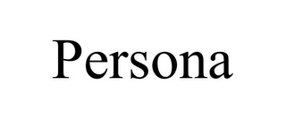mark for PERSONA, trademark #85845805