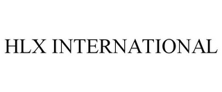 mark for HLX INTERNATIONAL, trademark #85845866