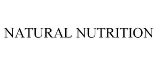mark for NATURAL NUTRITION, trademark #85845910