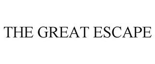 mark for THE GREAT ESCAPE, trademark #85846065
