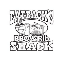 mark for FATBACK'S BBQ & RIB SHACK, trademark #85846198