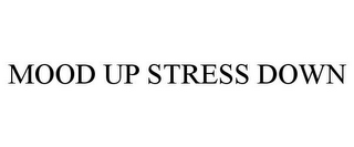 mark for MOOD UP STRESS DOWN, trademark #85846339