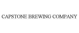 mark for CAPSTONE BREWING COMPANY, trademark #85846424