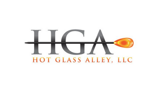 mark for HGA HOT GLASS ALLEY, LLC, trademark #85846580