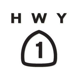 mark for HWY 1, trademark #85846778
