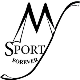 mark for MY SPORT FOREVER, trademark #85846970