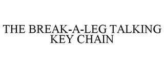 mark for THE BREAK-A-LEG TALKING KEY CHAIN, trademark #85846987