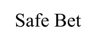 mark for SAFE BET, trademark #85847051