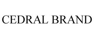 mark for CEDRAL BRAND, trademark #85847109