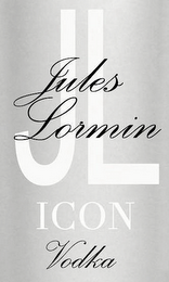 mark for JULES LORMIN JL ICON VODKA, trademark #85847243