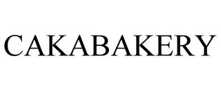 mark for CAKABAKERY, trademark #85847306