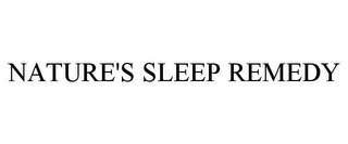 mark for NATURE'S SLEEP REMEDY, trademark #85847640