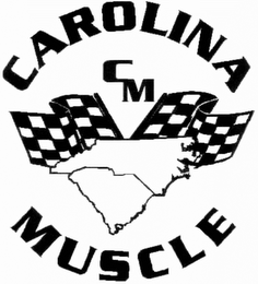 mark for CAROLINA MUSCLE CM, trademark #85847696