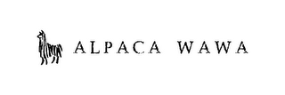 mark for ALPACA WAWA, trademark #85847741
