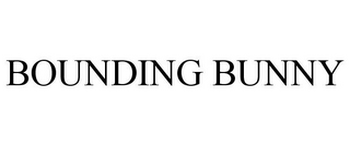 mark for BOUNDING BUNNY, trademark #85847975