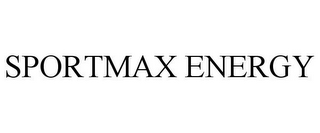 mark for SPORTMAX ENERGY, trademark #85848076