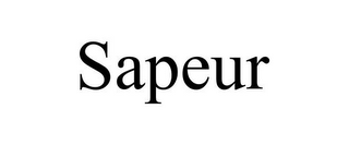 mark for SAPEUR, trademark #85848087