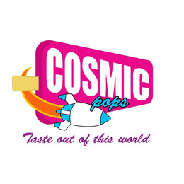 mark for COSMIC POPS TASTE OUT OF THIS WORLD, trademark #85848304